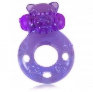 CHARMLY TOY VIBRATING RING VIOLET