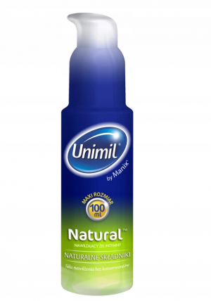 UNIMIL NATURAL LUBRIKAČNÍ GEL 100 ml