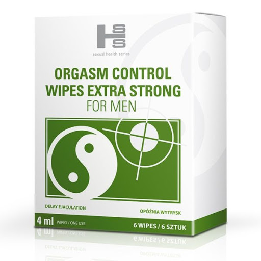 ORGASM CONTROL WIPES 6 ks