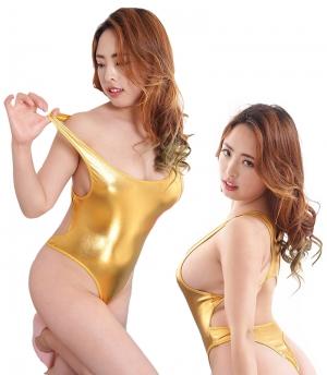 BONDAGE FASHION VINYL BODY GOLD