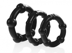 CHARMLY TOY SUPER SET 3 RINGS